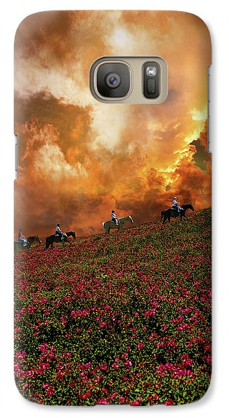 Galaxy Case featuring the photograph 4370 by Peter Holme III