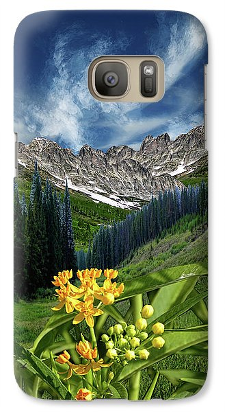 Galaxy Case featuring the photograph 4415 by Peter Holme III