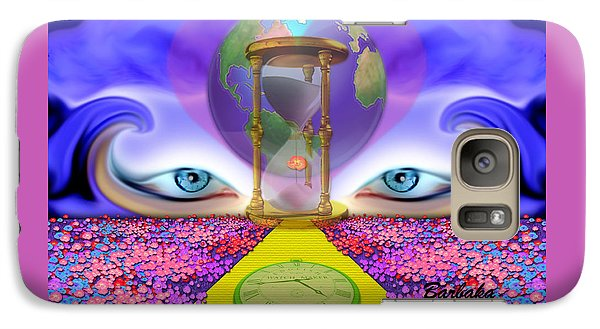 Galaxy Case featuring the digital art 444 Pathway by Barbara Tristan