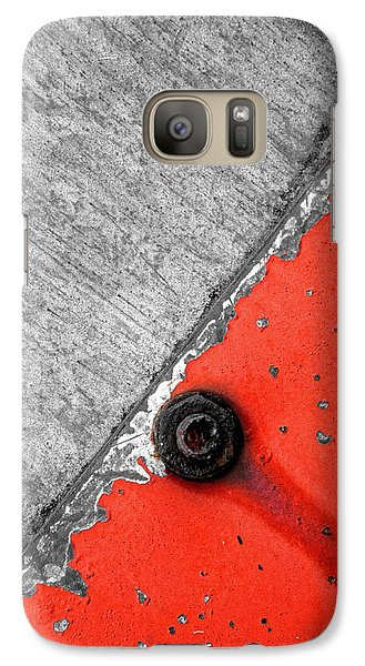 Galaxy Case featuring the photograph 45 Degree Angle by Tom Druin