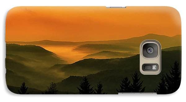 Galaxy Case featuring the photograph Allegheny Mountain Sunrise by Thomas R Fletcher