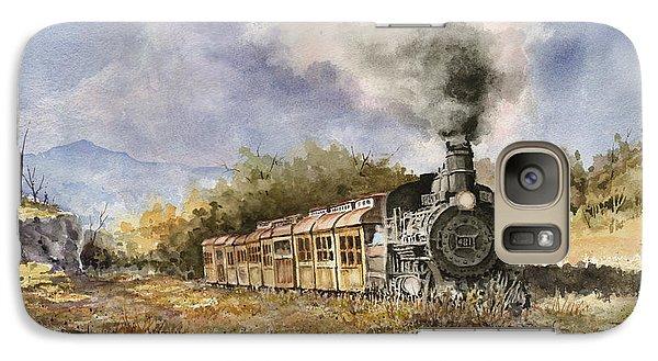 Train Galaxy S7 Case - 481 From Durango by Sam Sidders