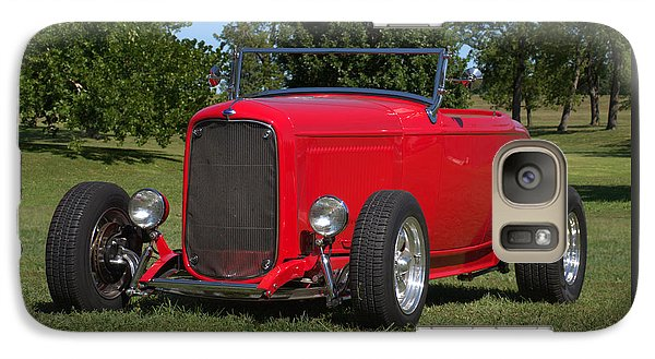 Galaxy Case featuring the photograph 1932 Ford Roadster Hot Rod by Tim McCullough
