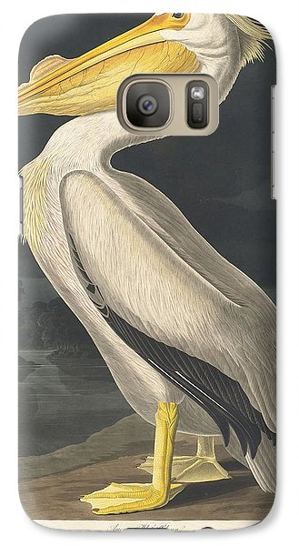 American White Pelican Galaxy S7 Case by Dreyer Wildlife Print Collections