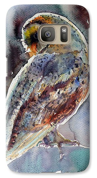 Barn Owl Galaxy Case by Kovacs Anna Brigitta