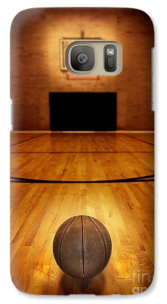 Basketball And Basketball Court Galaxy S7 Case