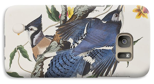 Blue Jay Galaxy Case by John James Audubon