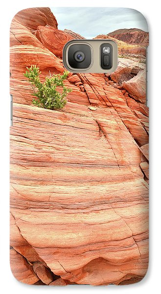 Galaxy Case featuring the photograph Colorful Wash In Valley Of Fire by Ray Mathis