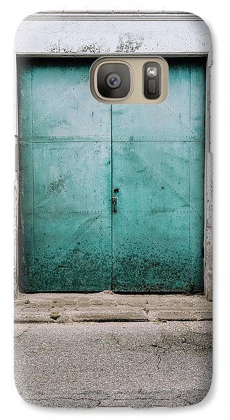 Galaxy Case featuring the photograph Door With No Number by Marco Oliveira