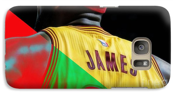 Lebron James Collection Galaxy Case by Marvin Blaine