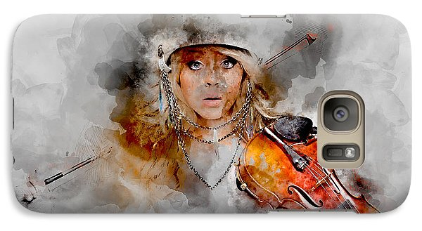 Violin Galaxy S7 Case - Lindsey Stirling by Marvin Blaine