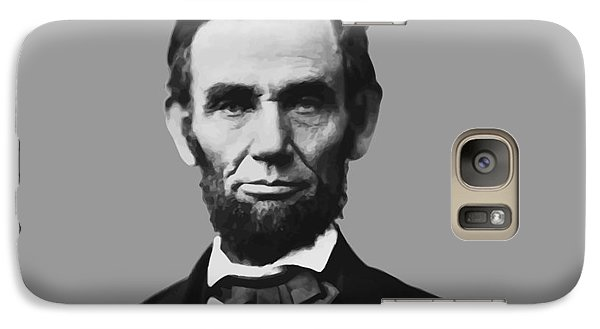 President Lincoln Galaxy S7 Case