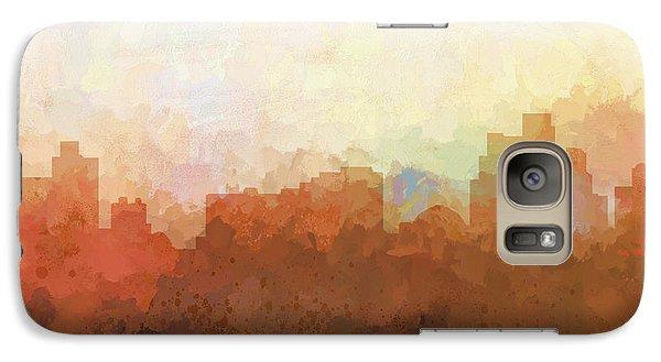 Galaxy Case featuring the digital art Reno Nevada Skyline by Marlene Watson