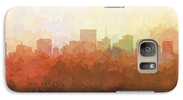Galaxy Case featuring the digital art Richmond Virginia Skyline by Marlene Watson