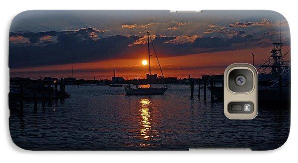 Galaxy Case featuring the photograph 5- Sailfish Marina Sunset In Paradise by Joseph Keane