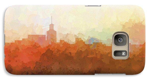 Galaxy Case featuring the digital art Santa Fe New Mexico Skyline by Marlene Watson