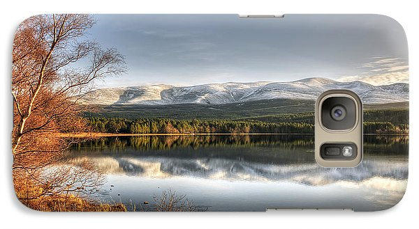Galaxy Case featuring the photograph Scotland by Gouzel -