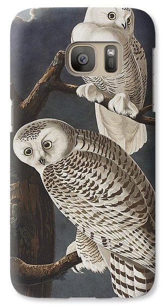 Snowy Owl Galaxy S7 Case