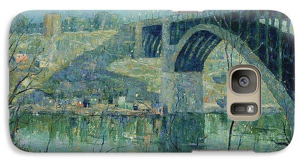 Spring Night, Harlem River Galaxy S7 Case
