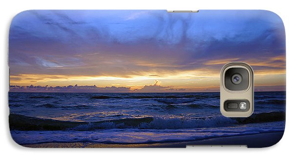 Galaxy Case featuring the photograph Sunset At Delnor Wiggins Pass State Park by Robb Stan
