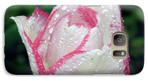 Galaxy Case featuring the photograph Tulip by Elvira Ladocki