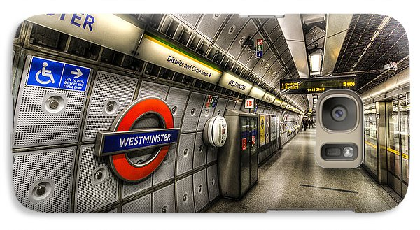 Underground London Galaxy S7 Case by David Pyatt