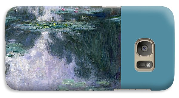 Lily Galaxy S7 Case - Waterlilies by Claude Monet