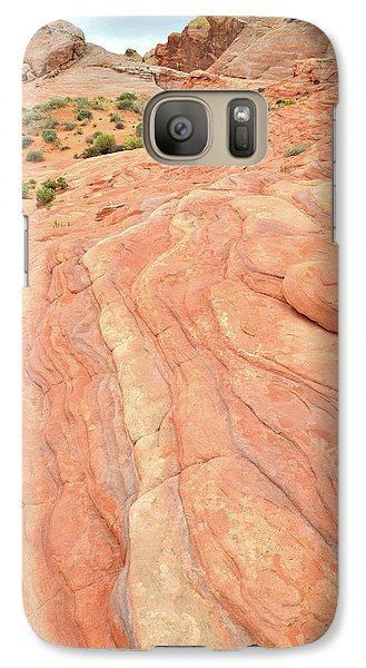Galaxy Case featuring the photograph Wave Of Color In Valley Of Fire by Ray Mathis