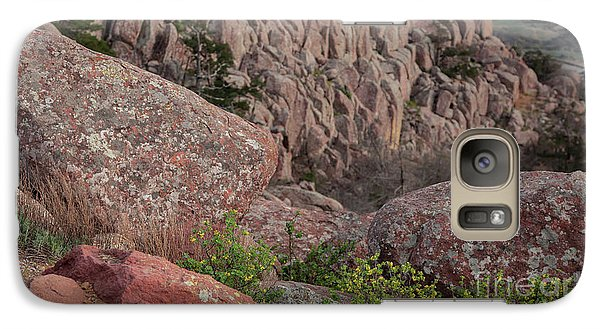 Galaxy Case featuring the photograph Wichita Mountains by Iris Greenwell