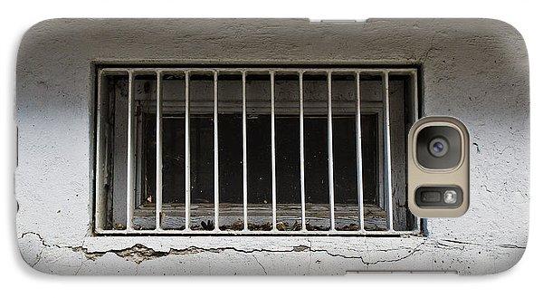 Dungeon Galaxy S7 Case - Window Bars by Tom Gowanlock