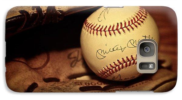 50 Home Run Baseball Galaxy S7 Case by Mark Miller