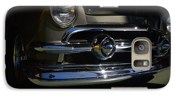 Galaxy Case featuring the photograph 51 Ford Woody Nose by Bill Dutting