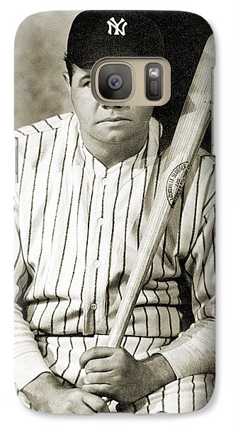 George H. Ruth (1895-1948) Galaxy S7 Case
