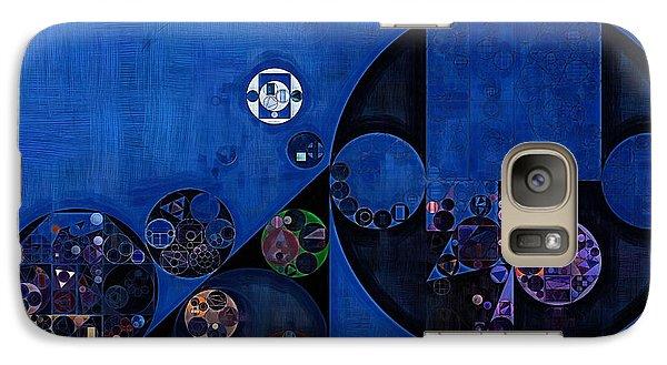 Galaxy Case featuring the digital art Abstract Painting - Onyx by Vitaliy Gladkiy