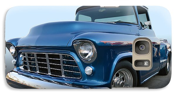 Galaxy Case featuring the photograph 55 Chev Stepside by Bill Dutting