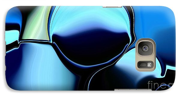 Galaxy Case featuring the digital art 57 Distortions by Greg Moores