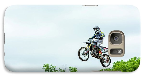 Galaxy Case featuring the photograph 573 Flying High At White Knuckle Ranch by David Morefield