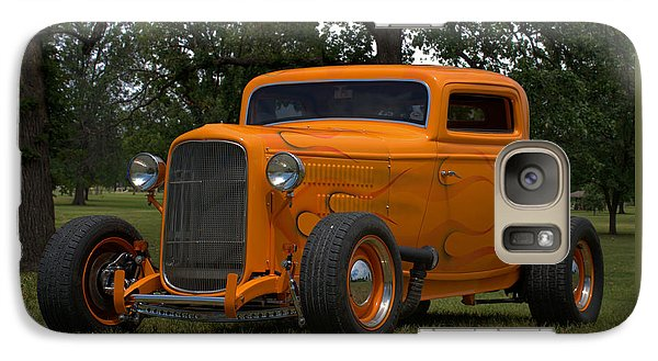 Galaxy Case featuring the photograph 1932 Ford Coupe Hot Rod by Tim McCullough
