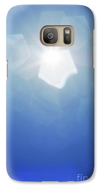 Galaxy Case featuring the photograph Abstract Sunlight by Atiketta Sangasaeng