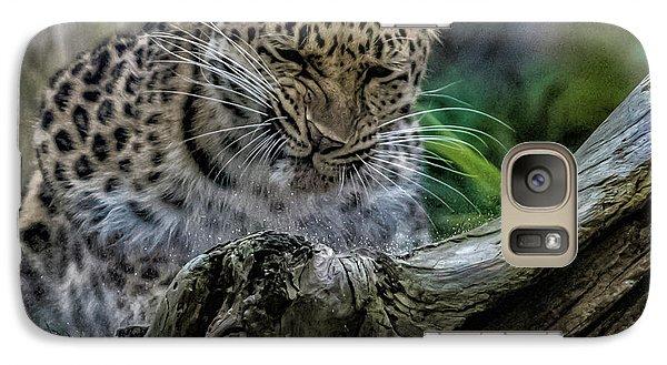 Amur Leopard Galaxy S7 Case