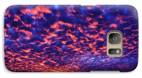 Galaxy Case featuring the photograph Appalachian Sunset Afterglow by Thomas R Fletcher
