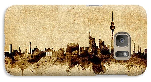 Berlin Germany Skyline Galaxy S7 Case by Michael Tompsett