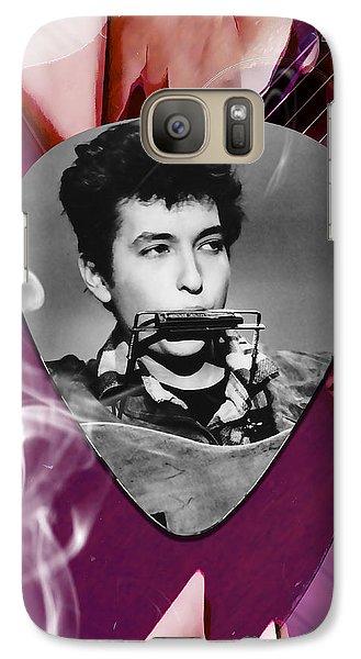 Bob Dylan Art Galaxy S7 Case