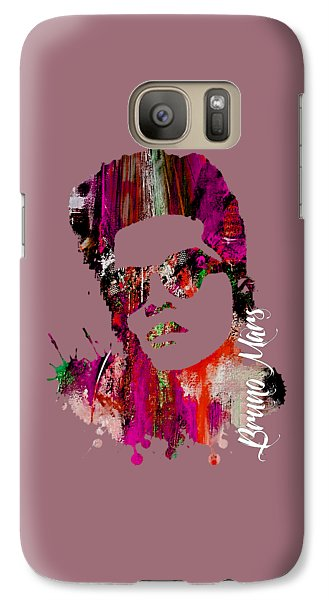 Bruno Mars Collection Galaxy S7 Case