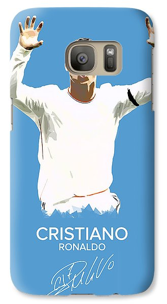 Cristiano Ronaldo Galaxy S7 Case by Semih Yurdabak