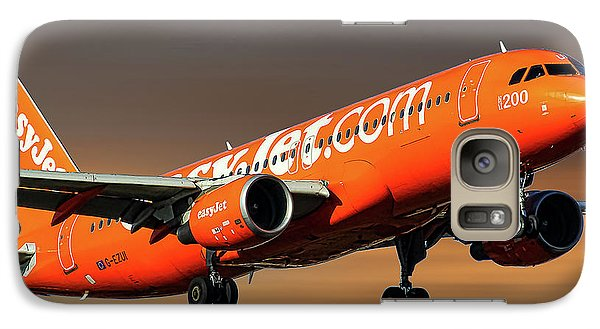 Jet Galaxy S7 Case - Easyjet 200th Airbus Livery Airbus A320-214 by Smart Aviation