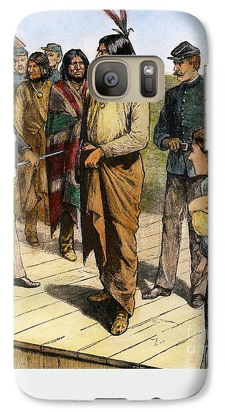 Geronimo 1829-1909.  To License For Professional Use Visit Granger.com Galaxy S7 Case