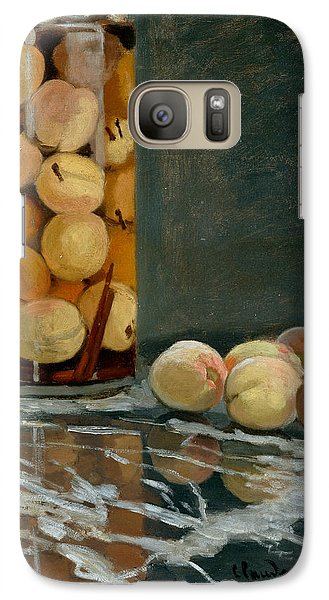 Jar Of Peaches Galaxy S7 Case by Claude Monet