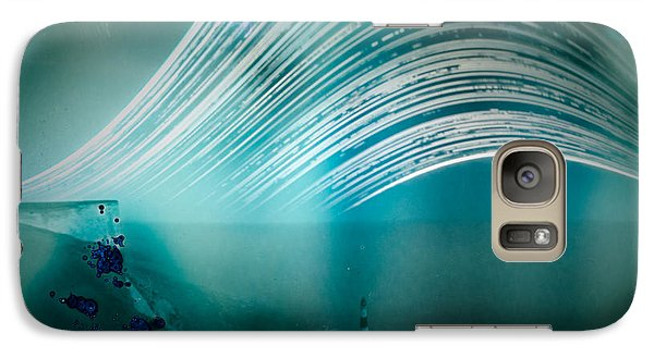 6 Month Exposure Overlooking The Beachy Head Lighthouse Galaxy S7 Case