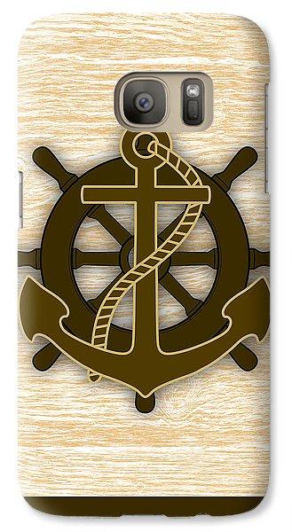 Nautical Collection Galaxy S7 Case